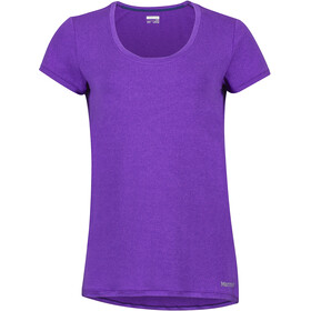 Marmot All Around - Camiseta manga corta Mujer - violeta